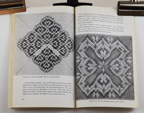 Mira Silverstein's Guide to Upright Stitches inside the book